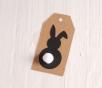Etiquetas de conejitos