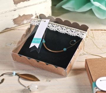 Caja plana para joyas