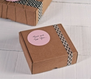 Scatole in cartone per piccole spedizioni