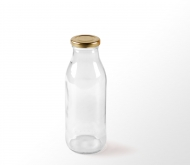Bottle for juice or milk
