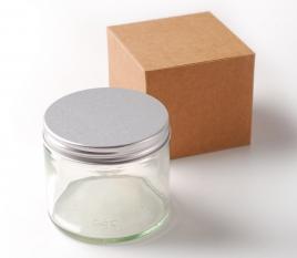 Glasbehälter 250 ml für aromatische Kerzen
