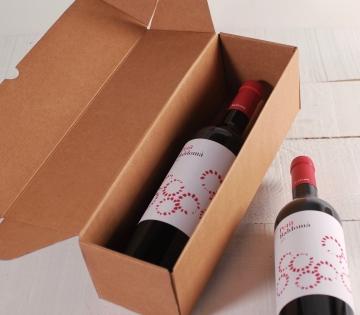 Caja de envíos para botellas