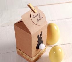 Cajita tipo tetrabrick para Pascua