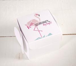 Printed gift boxes Flamingo