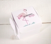 Printed gift boxes Flamingo