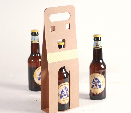 Decorated Box for Beer