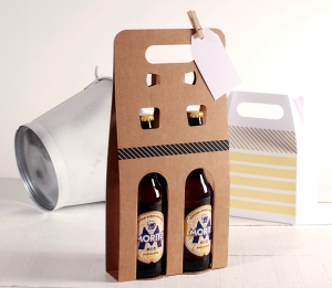 Decorated packaging for beer
