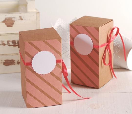 Coral Pink gift box