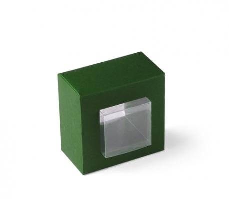 Clear gift box