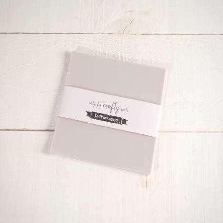 Cartoncini Vegetali Extra Bianco 16,5x 16,5cm