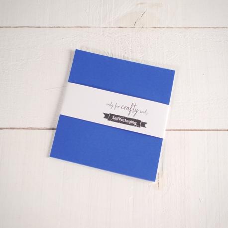 Cartulinas Vegetales Azul 16,5x 16,5cm