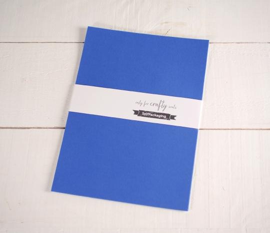 Blue A4 Construction Paper