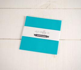 Turquoise 16.5x 16.5 cm Construction Paper