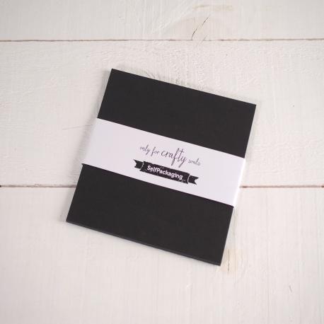 Graphite coloured 16.5x 16.5 cm Card