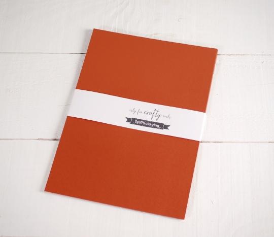 Copper coloured A4 Card