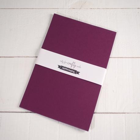 Sirio Wine coloured A4 Card