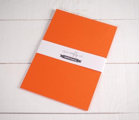 Cartoncini Arancioni A4
