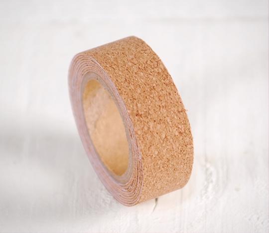 Washi tape de corcho liso