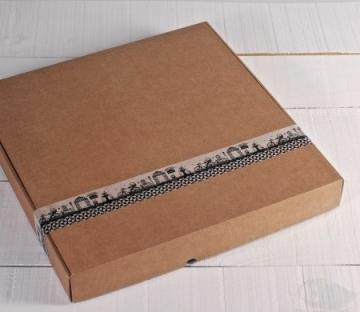 Cajas de pizza lisas
