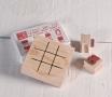 Tic Tac Toe - Rubber stamp set
