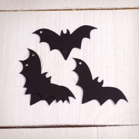 Fledermäuse aus Karton