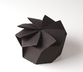 Hexagonal origami gift box