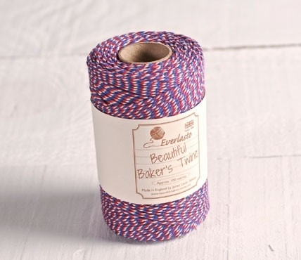 Baker's twine tricolor