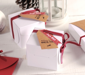 Square Christmas box