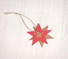 Estrellas Cartón 10 ud.