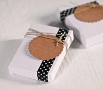 Caja para bodas rectangular