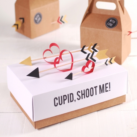 Box with a lid for Valentine's day