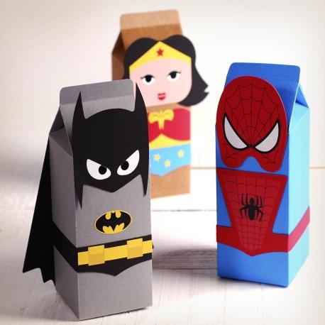 Superhero gift boxes