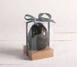 Caja pequeña con lazo para huevo de Pascua