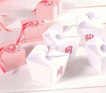 Cajita fideos chino impresa