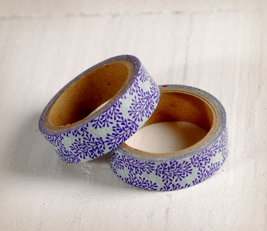 Vegetative washi tape