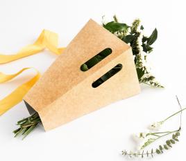 Caja para ramos de flores