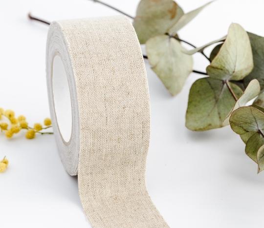 Breites Fabric Tape aus Leine