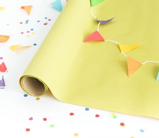 Carta da regalo in tonalità pastello