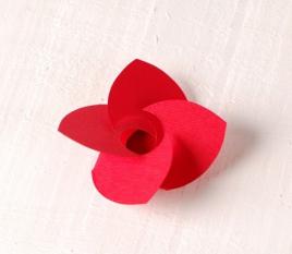 10 fiori in cartone