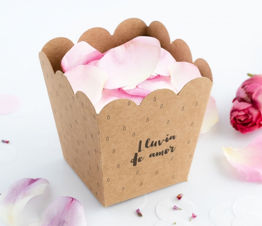 Box for petals or rice