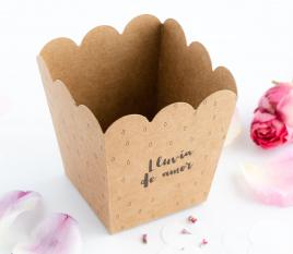 Schachtel für Blütenblätter oder Reis