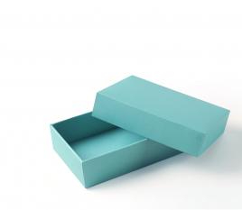 Gefütterte rechteckige Schachtel