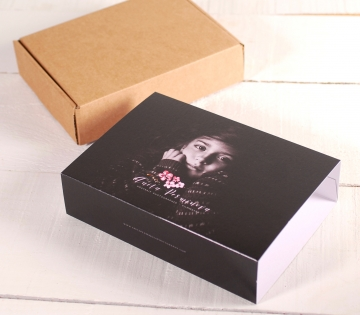 Caja con faja personalizada con fotos