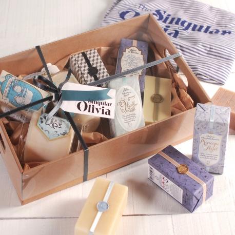 Schachtel für die Produktpräsentation