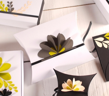 Caja de regalo decorada 3D