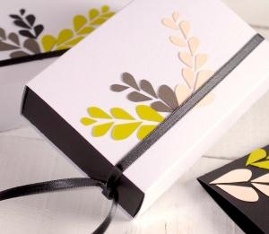 Caja de regalo floral