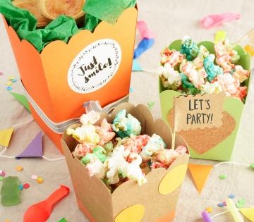 Schachtel für Popcorn