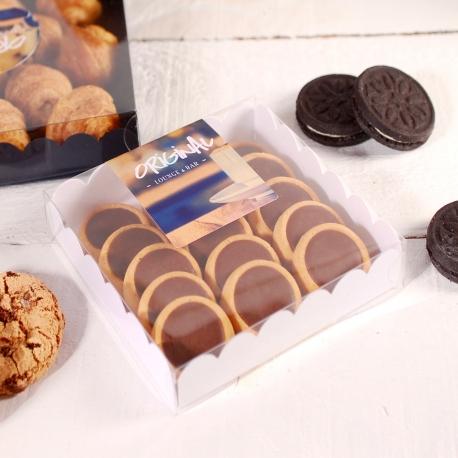 Caja expositor dulces moderna