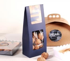 Caja para frutos secos con ventana