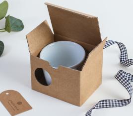 Caja para taza de café
